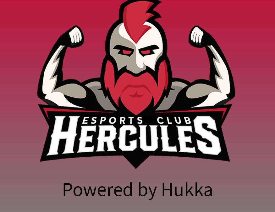 Hukka mukana Hercules Esportsin toiminnassa